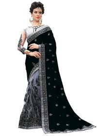 Designer Embroidered Lycra Saree