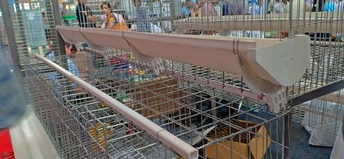 PVC FEED TROUGH (cage farming)