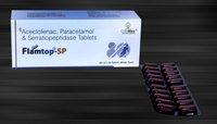 Aceclofenac 100 mg & Paracetamol 325 mg & Serratiopeptidase 15 mg