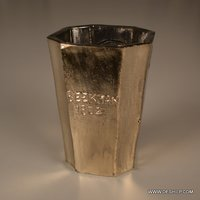 Small Silver T Light Candle Holder