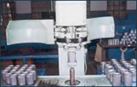 Spin on filters Seaming Machine