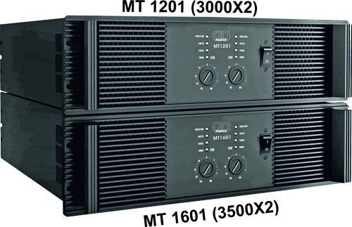 QD AUDIO MT 1201 POWER AMPLIFIER