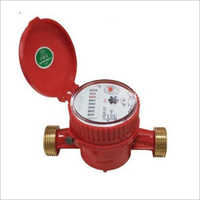 Brass Body Single-Jet Dry Cold Water Meter