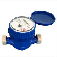 Single Jet Dry Dial Water Flow Meter