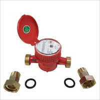Dry Dial Brass Body Domestic Water Meter
