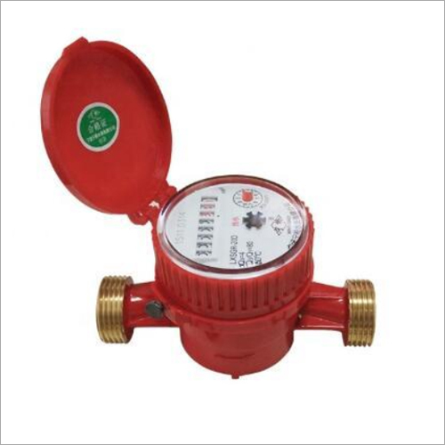 Single Jet Dry Domestic Water Meter
