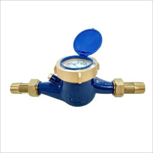 Multi-Jet Dry or Wet Type Dn15-50mm Cold Water Meter Brass Water Meter
