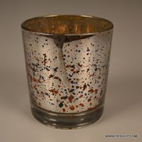 Silver Decor Candle Holder