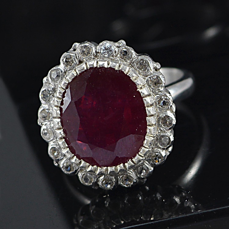 Jaipur Rajasthan India Ruby Gemstone 925 Sterling Silver Ring Sz 6.25 Handmade Jewelry Manufacturer
