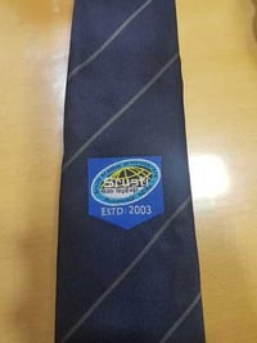 Customised logo tie