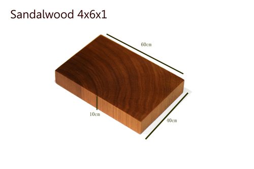 Sandalwood 4x6x1
