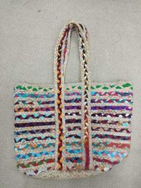 JUTE CHINDI STYLE FASHION BAGS