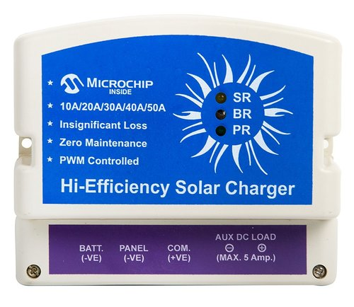 10 A 12 V PWM Solar Charge Controller with USB & Dusk to Down