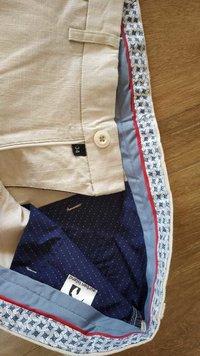 Cotton Linen Blend Pants