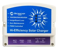 20 A 12V PWM Solar Charge Controller with USB & Dusk to Down