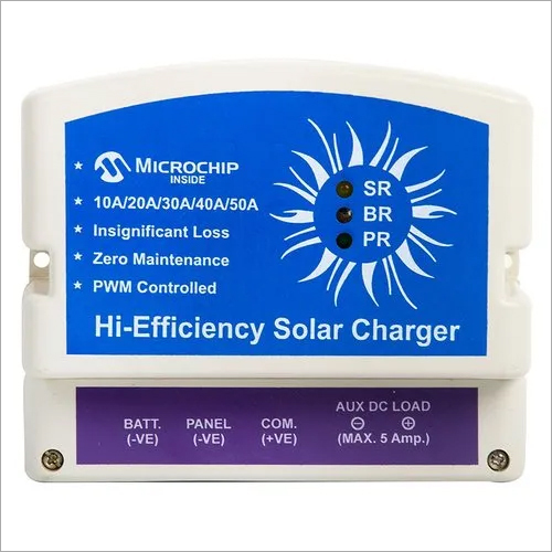 50 A 24 V PWM Solar Charge Controller