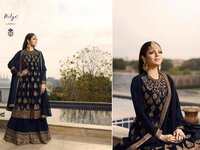Anarkali Embroidery Salwar Suit