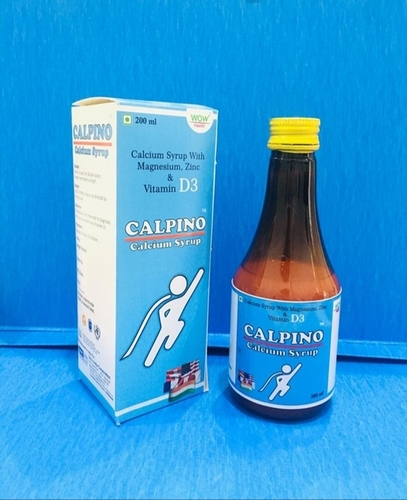 Calcium And Vitamin D3 Syrup