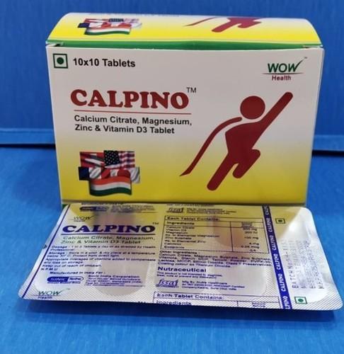 CALPINO- CALCIUM , VITAMIN D3 TABLET