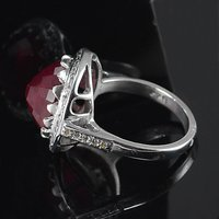 Jaipur Rajasthan India Ruby Gemstone 925 Sterling Silver Ring Sz 6.5 Handmade Jewelry Manufacturer
