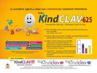 Amoxycillin 500 mg & Clavulanic acid 125 mg Tablets