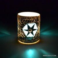 Mosaic Handmade Glass T light Candle