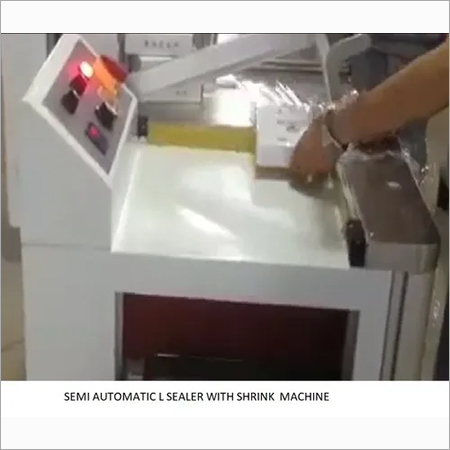 Semi Automatic Automatic L Sealer With Shrink
