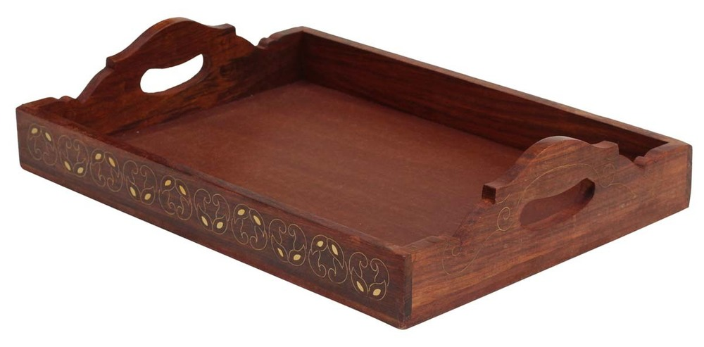 Indian Traditional Wooden Serving Tray