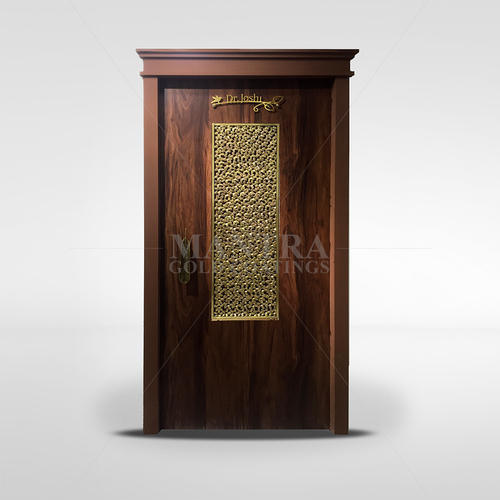 Brass Door Panel