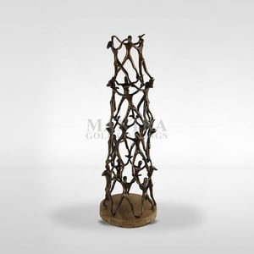 Bronze Human Chain Craft