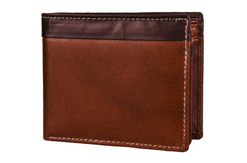 Brown Men's Leather Wallet