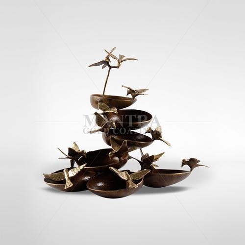 Bronze Bird Fountain