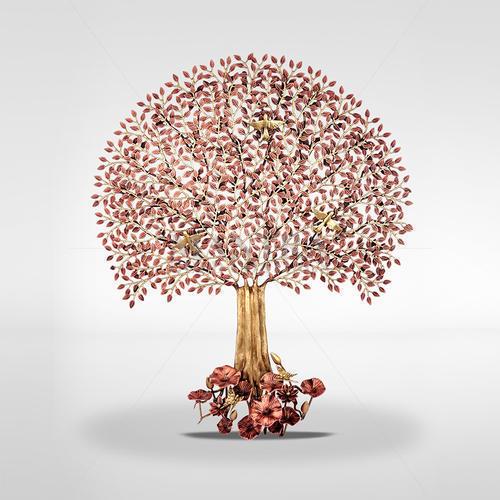 Bronze Tree Decorative Items