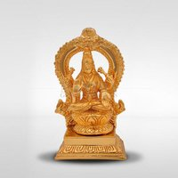 Lakshmi With Arch Gold Plated Statue