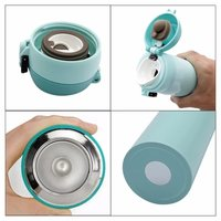 Double layer insulated water bottle with vacm flask