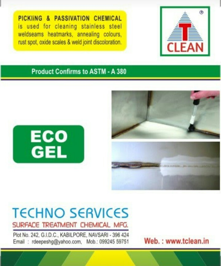 Bio Chemical product Eco Gel