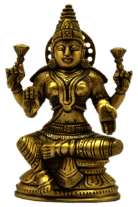 Lakshmi with Base Statue