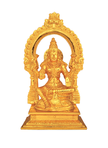 Lakshmi with Arch Statue