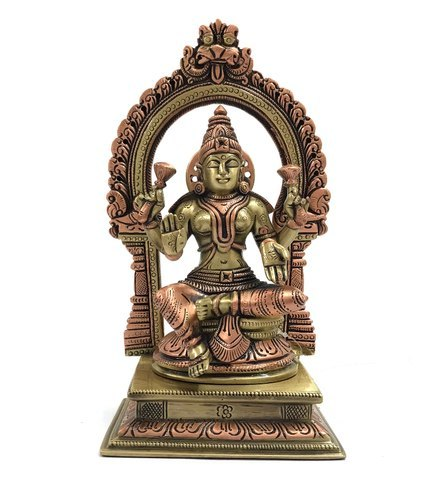 Godess Lakshmi with Arch Statue