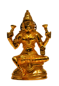 Lakshmi Statue with base