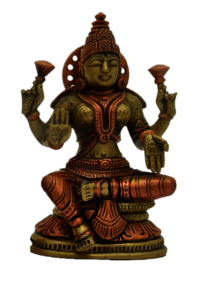Lakshmi Statue with Base 5inch