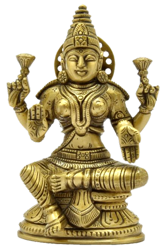 5 inch Lakshmi Statue with base