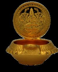Gajalakshmi Lamp