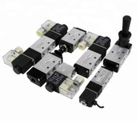 Single Coil Electric Electromagnetic Flow Control Solenoid Valve / Pneumatic Solenoid Valve