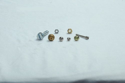 Brass and Mild Steel Screw