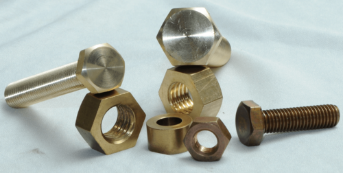 Brass Hex Nut Bolt