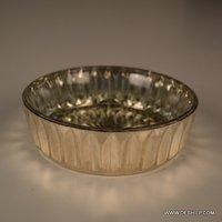 Round Shape Glass Bowl