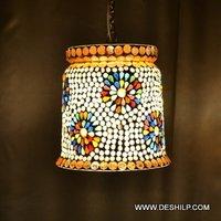 Dibba Shape Glass Wall Hanging