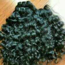 Natural Temple Hair