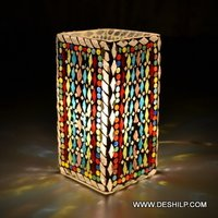 Small Size Mosaic Glass Table Lamp